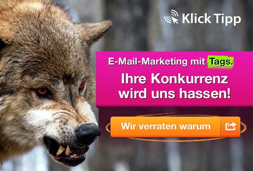 Klick-Tipp E-Mail-Marketing mit Tags und System