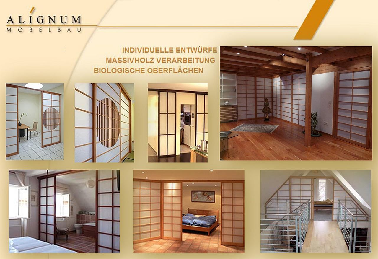 alignum m belbau schreinerei mannheim shoji shoji. Black Bedroom Furniture Sets. Home Design Ideas