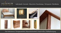 Kunstvolle Massivholzmöbel vom Schreiner, Edingen-Neckarhausen bei Heidelberg
