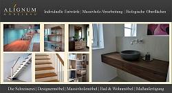Möbel nach Maß von Ludwigshafen bis Speyer, Massivholz Küchen, Bad Möbel, Badschränke, Bücherregale und Treppen