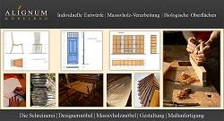 Möbelbau, Massivholz Möbel fertigen, Gestaltung und Planung von Massivholzmöbel, Shoji, Massivholzbetten Mannheim-Heidelberg