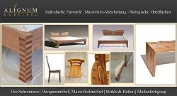 Wir fertigen maßgerecht Massivholz Möbel wie z.B. Massivholz Regale, Betten, Stühle u.v.m. von Schwetzingen bis Heppenheim