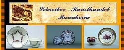 Tasse Blumenmalerei Ludwigsburg um 1770, Tasse mit Untertasse, Hausmalerei, Porzellan Meissen um 1750, Tasse Landschaftsmalerei Wien um 1750