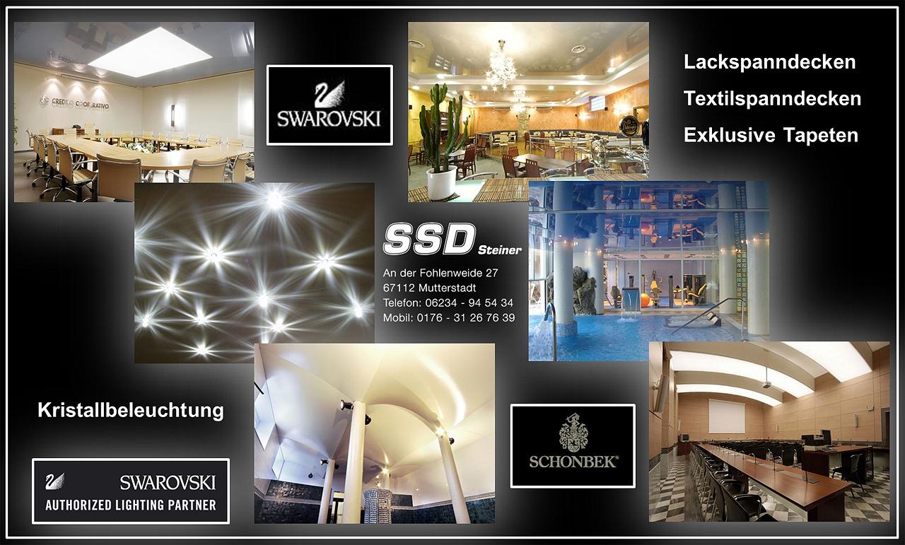 Gut bekannt SSD Steiner Mutterstadt- günstige Spanndecken und Deckensysteme RF62