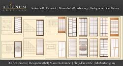 SHOJI. Entwürfe von Raumteilern, Einbaumöbeln, Schränken und Kommoden. ALIGNUM MÖBELBAU Schreinerei für Massivholzmöbel