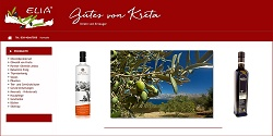 Cretan Mythos Olivenöl, Bio-Oliven-Öl Native Extra günstig online bestellen, Online-Shop für griechische Spezialitäten