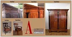 Antiquitäten Schowalter alte Möbel hochwertig restaurieren Pirmasens, Zweibrücken